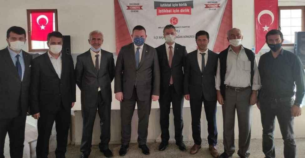 MHP Taraklı'da Halim Cingöz yeniden başkan