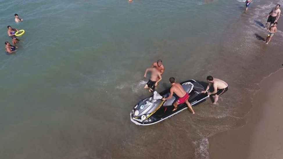 Hafta sonu 17 kişi boğulmaktan kurtarıldı