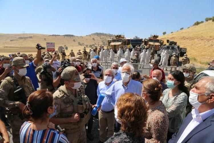 Provokasyonun ikinci perdesi Mardin Yücebağ'da açıldı!