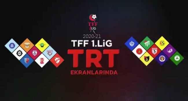 TFF 1. Lig maçları, yeni sezonda TRT'den yayımlanacak