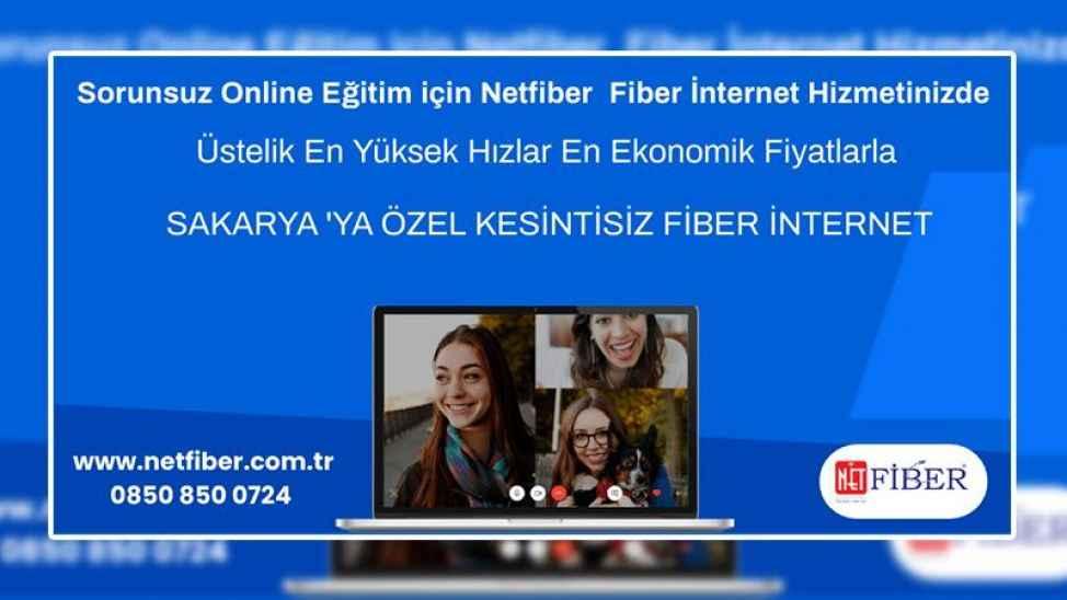 Kesintisiz online eğitim için NetFiber