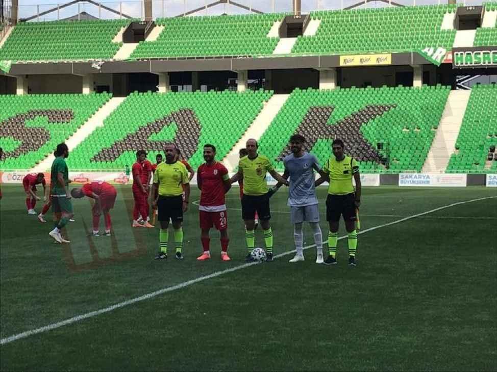Sakaryaspor üçüncü hazırlık maçını da kazandı