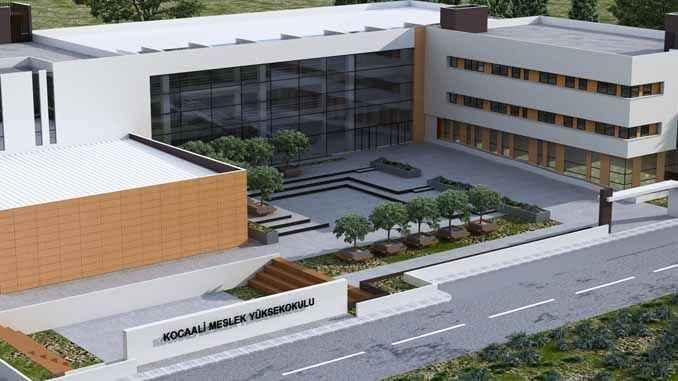 SUBÜ Kocaali Meslek Yüksekokulu için ihaleye çıktı