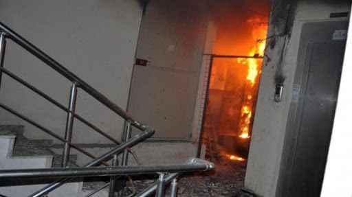 Korucuk'ta korkutan yangın! 6 kişi dumandan etkilendi
