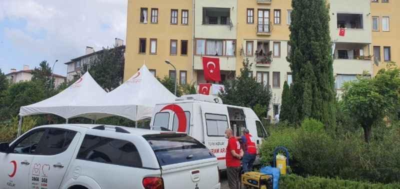 Suriye'de şehit edilen Kızılay personeli yarın defnedilecek