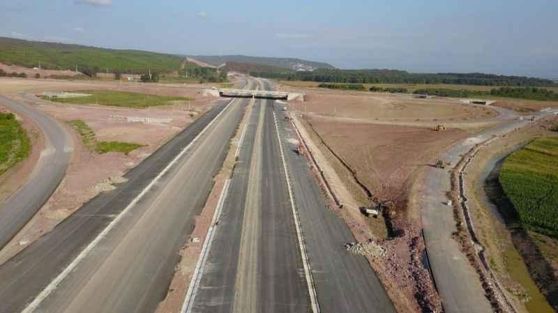 21 Aralık'ta açılacak Kuzey Marmara Otoyolu havadan görüntülendi
