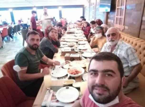 Diyarbakırlı fındık işçileri yemek organizasyonuyla memleketlerine uğurlandı