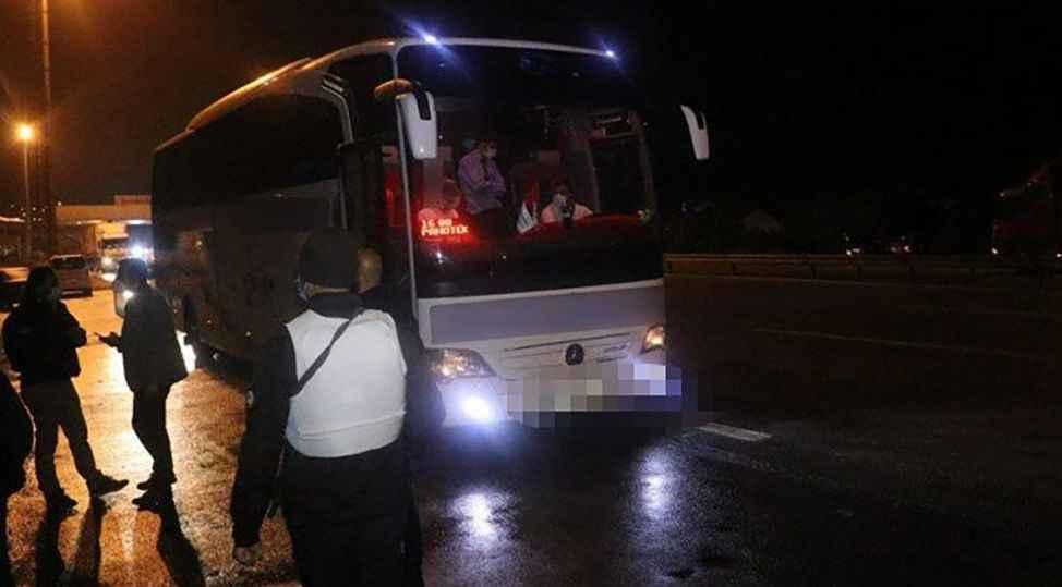 Aksaray'dan İstanbul'a gidiyordu! Karantinadan kaçtı Sakarya'da yakalandı