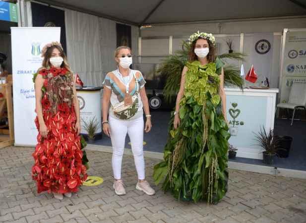 Sakarya Peyzaj ve Süs Bitkiciliği Festivali devam ediyor