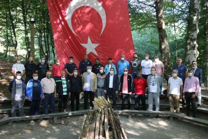 Kocaelili spor muhabirleri Diriliş-2 Gençlik kampında buluştu