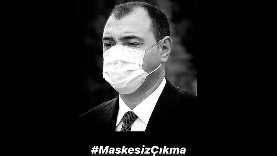 """Vali: """"Kul hakkıdır, lütfen maske takalım"""""""