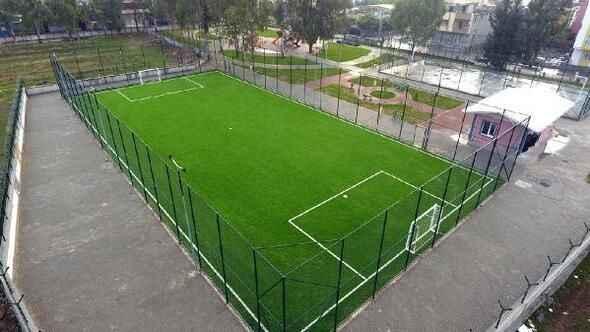 Adapazarı Belediyesi tarafından spor sahası yapılacak