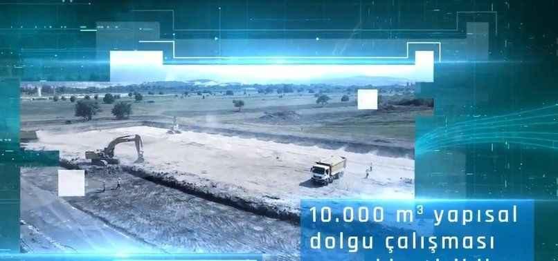 Yerli otomobilin fabrika inşaatında çalışmalar sürüyor