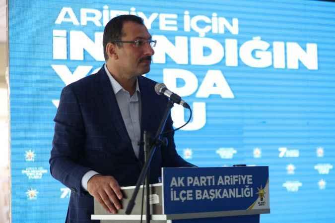 AK Parti Arifiye İlçe Kongresi düzenlendi