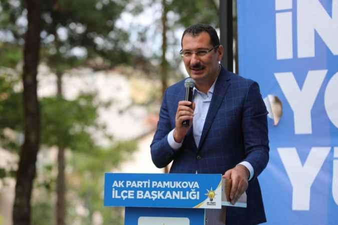 AK Parti Pamukova İlçe Kongresi yapıldı