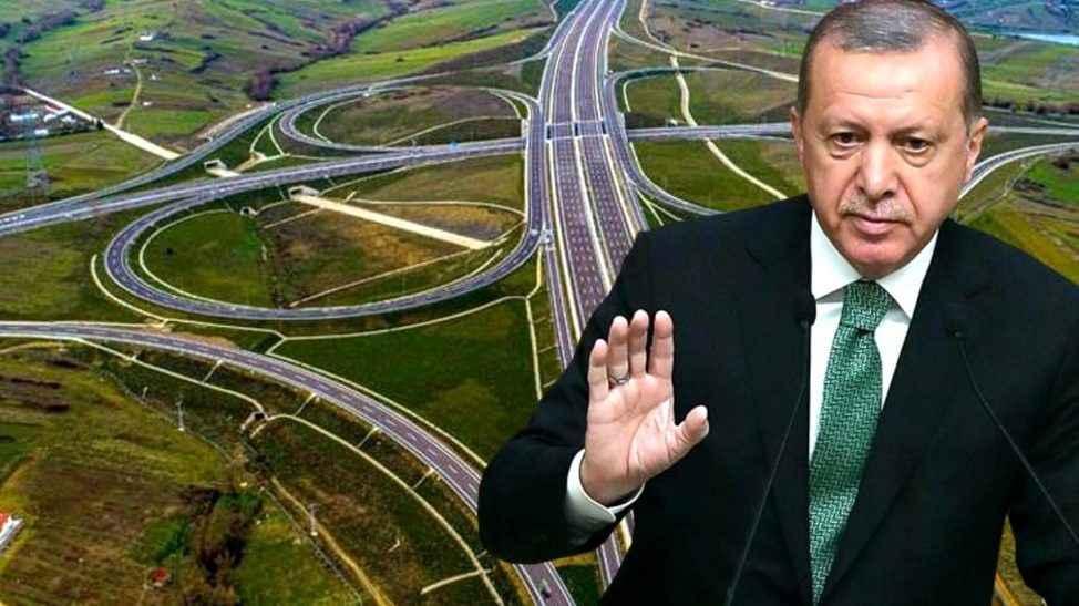 Erdoğan dev projede Sakarya'yı işaret etti: Tamamlandığında...