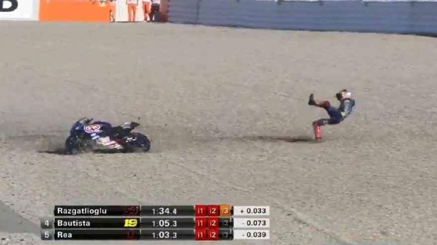 Toprak Razgatlıoğlu İspanya yarışında kaza geçirdi