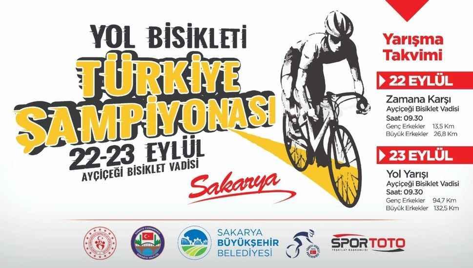 Yol Bisikleti Türkiye Şampiyonası canlı yayınla TV264'te