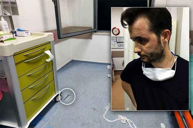 """Acil serviste neler yaşandı? Darp edilen sağlık çalışanı anlattı """"Makasla saldırdı"""""""