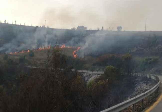 Komşuda 11 bölgede orman yangınları çıktı