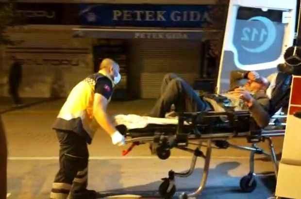 Kavga eden gruplar olaya müdahale eden polis ve bekçilere saldırdı