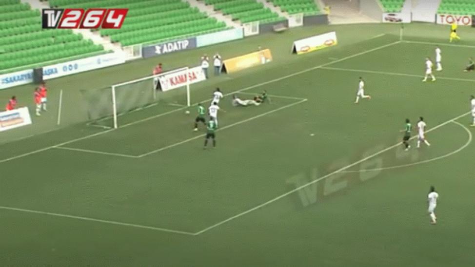 İşte Sakaryaspor'a beraberliği getiren o gol! Maç Özeti
