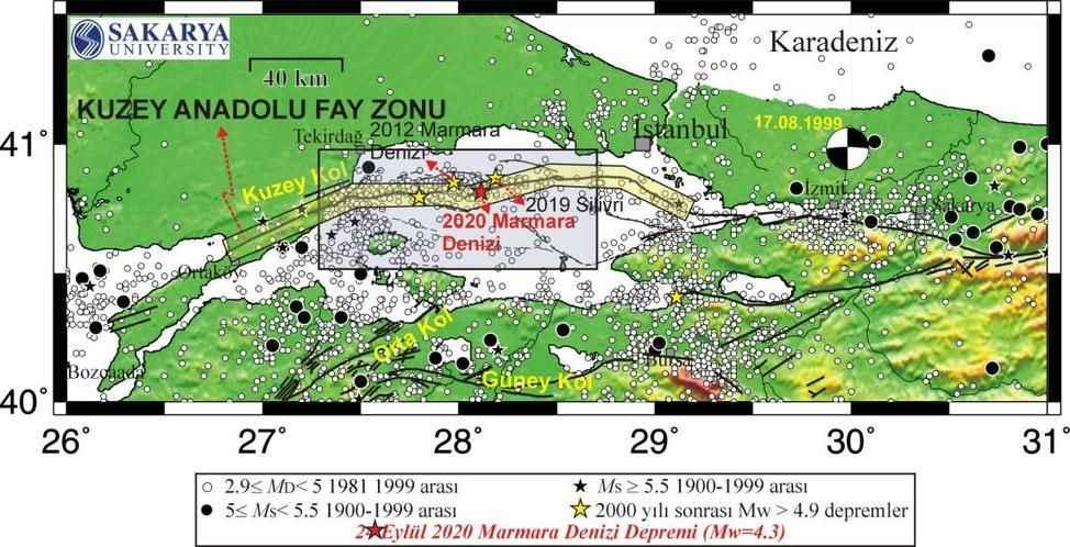 SAÜ'lü uzmandan Marmara Depremi yorumu