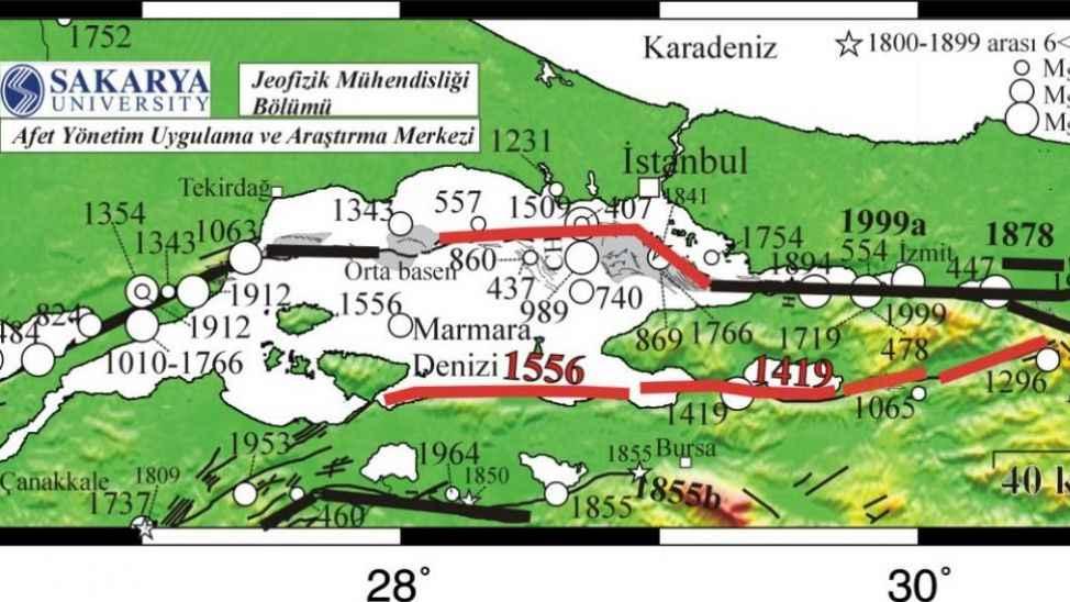 Marmara Denizi'ndeki deprem Silivri depreminin artçısı olabilir