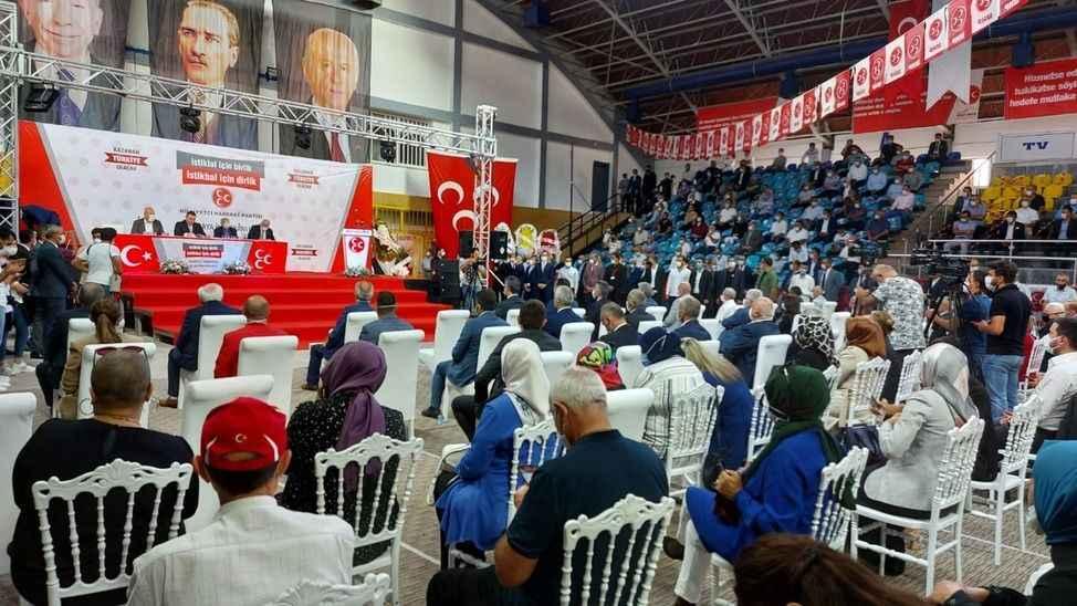 MHP Sakarya'da Akar güven tazeledi! İşte yeni il yönetimi...