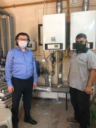 SATSO 7. Meslek Komitesi, 23 okulun mekanik tesisat onarımını yaptı