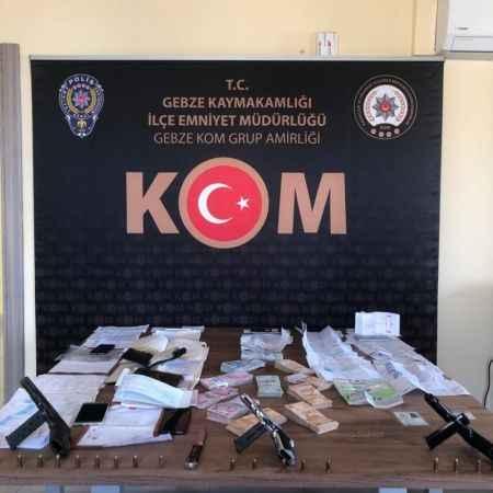 Kocaeli'de tefeci operasyonu: 8 gözaltı