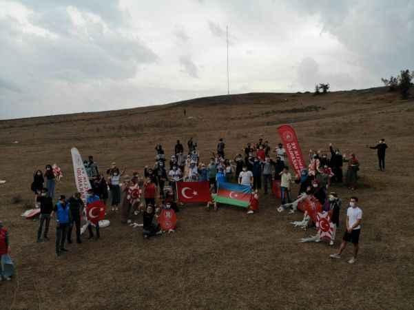 Sakarya ve Düzce'den Azerbaycan'a manevi destek