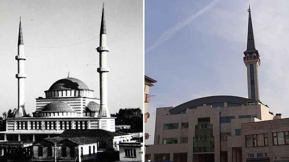 Tozlu Cami'nin mimarisi sosyal medyada eleştirildi!