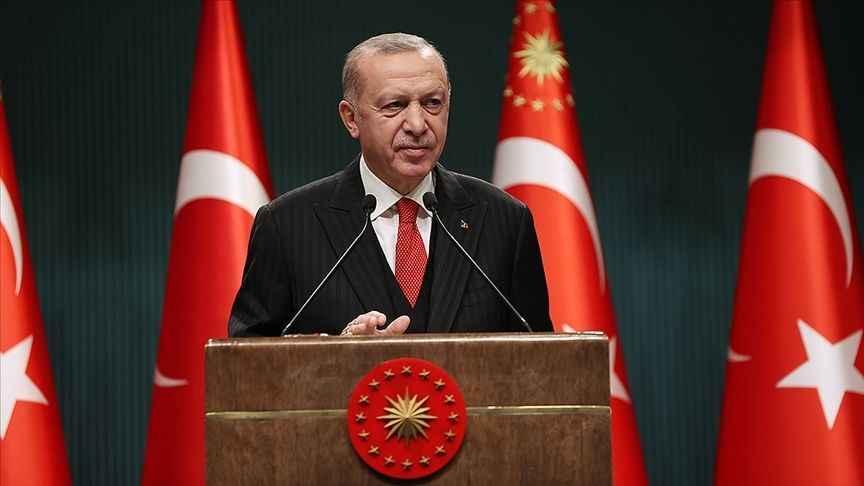 Cumhurbaşkanı Erdoğan: Tank palet fabrikasının değeri 250 milyon dolardır