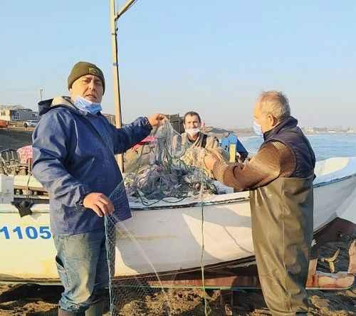 Haralombalı balıkçıların yüzünü güldürdü!