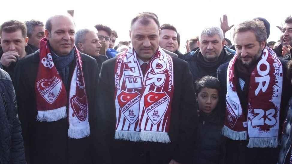 Elazığspor'dan Vali Kaldırım'a teşekkür geldi