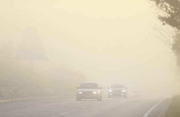 Sakarya, Bolu ve Düzce'de sis etkili oluyor