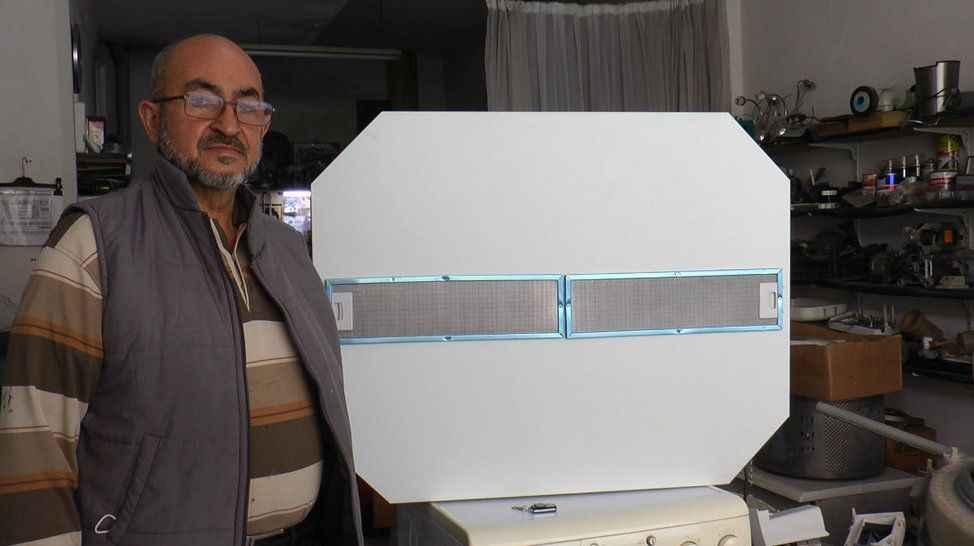 Hasta annesi için hava temizleme cihazı tasarladı