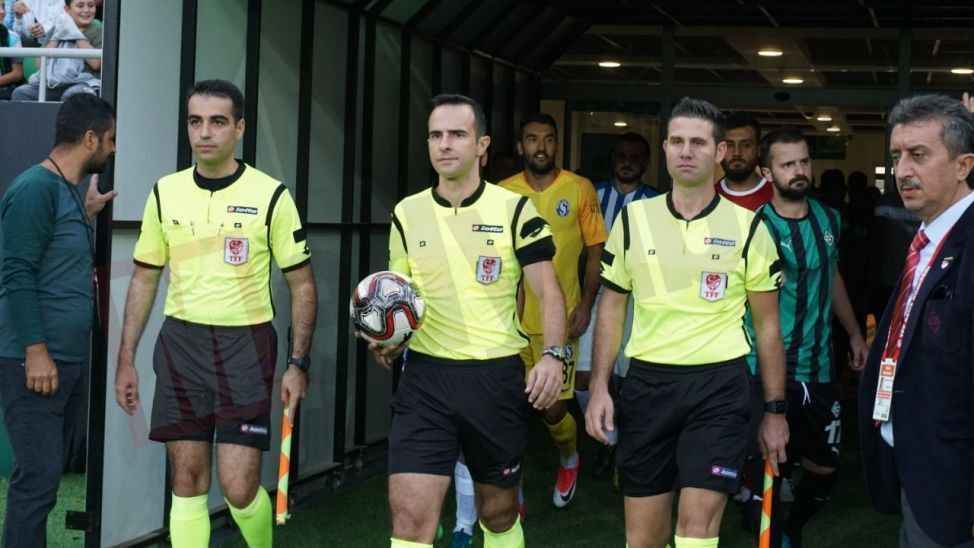Serik maçının hakemi Ankara'dan