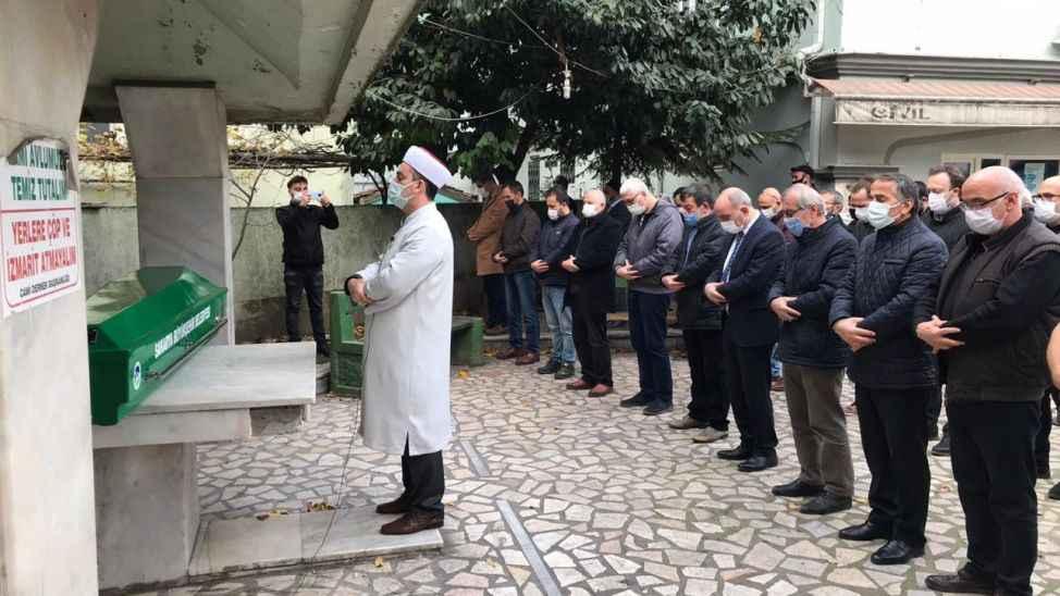 Gazeteci Murat Solmaz son yolculuğuna uğurlandı
