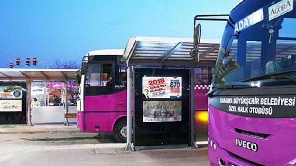 Adapazarı Korucuk hattına 40 adet M plakası minibüs