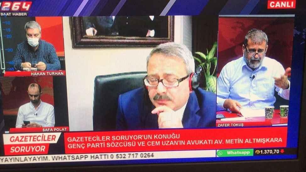 """Cem Uzan'ın avukatı Tv264'te konuştu: """"O kararlar Türkiye'ye dönmesi için…"""""""