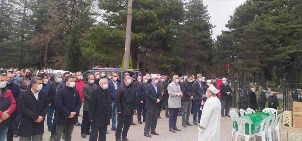 Hendek eski belediye başkanı Kamışoğlu, son yolculuğuna uğurlandı