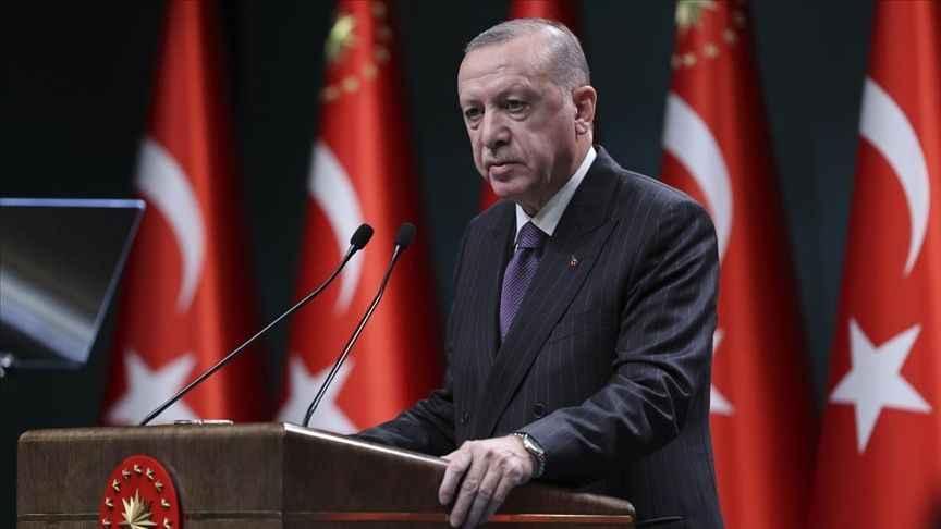 Erdoğan duyurdu... Yılbaşında 4 günlük sokağa çıkma kısıtlaması!