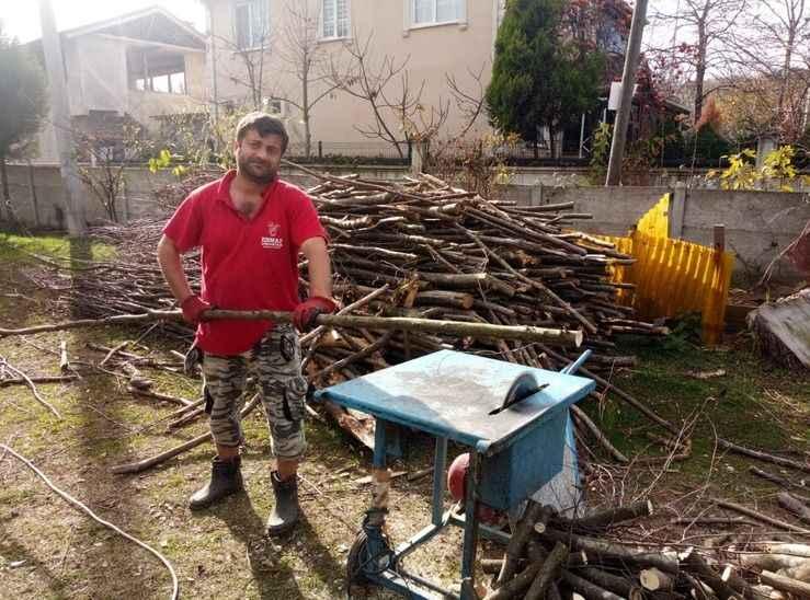 Karapürçek'te köylülerin kış hazırlığı başladı