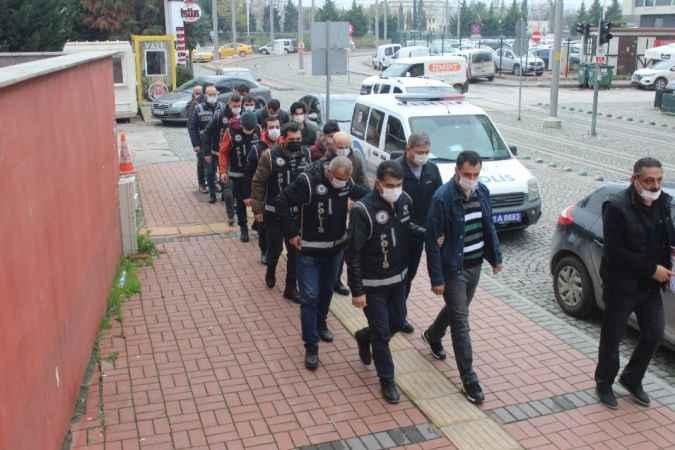Kocaeli FETÖ operasyonunda gözaltına alınan 11 kişi adliyeye çıkarıldı