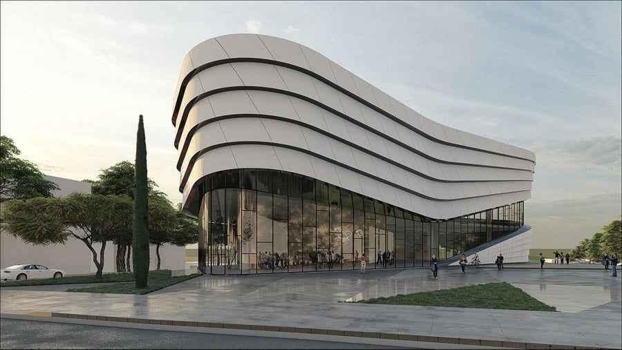 Bir milyon kitap kapasiteli şehir kütüphanesinde start verildi