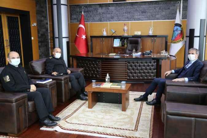 Sakarya İl Jandarma Komutanı'ndan Başkan Alemdar'a ziyaret