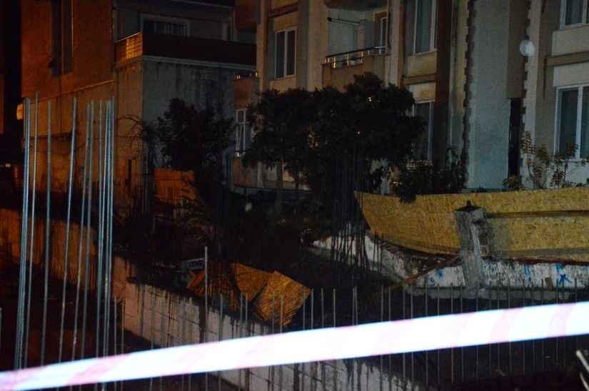 Otelin istinat duvarı çökünce deprem oluyor sandılar