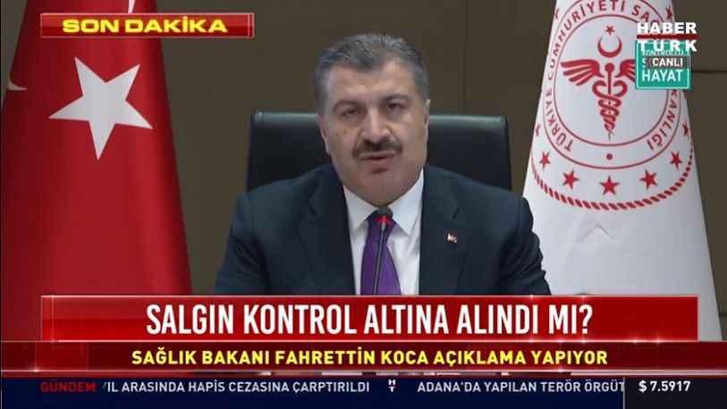 Fahrettin Koca: Bu mutasyon Eylül ayından beri mevcut